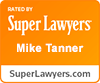 Mike Tanner, Super Lawyers, 2017.